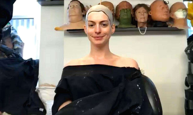 Parece magia... pero es maquillaje: la transformación de Anne Hathaway para la película 'Las Brujas'