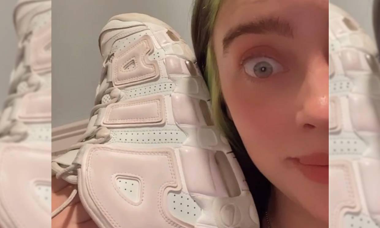 ¿De qué color son las zapatillas? La nueva ilusión óptica que llega de la mano de Billie Eilish