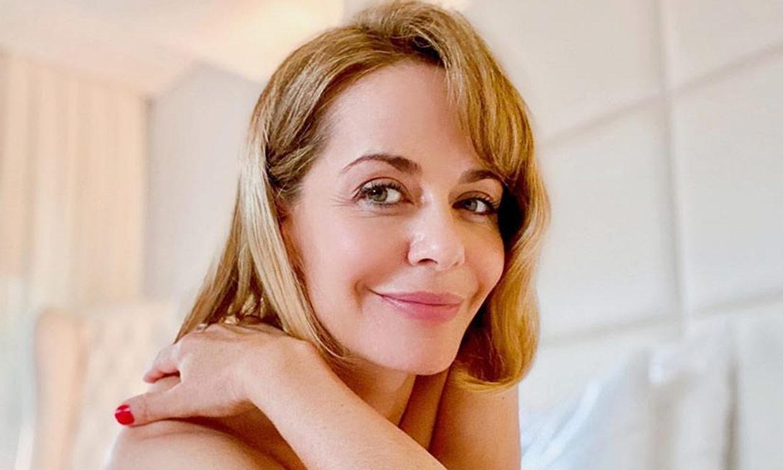 María Adánez agradece las felicitaciones por su embarazo y ¡presume de barriguita premamá!