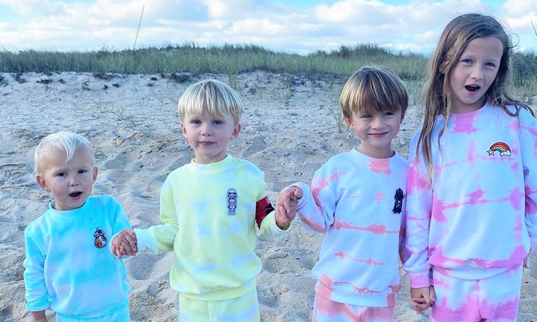 Los hijos de Hilaria y Alec Baldwin dan la nota en una particular fiesta de pijamas