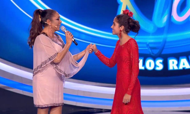 Isabel Pantoja da la 'alternativa coplera' a una de las aspirantes de 'Idol Kids'