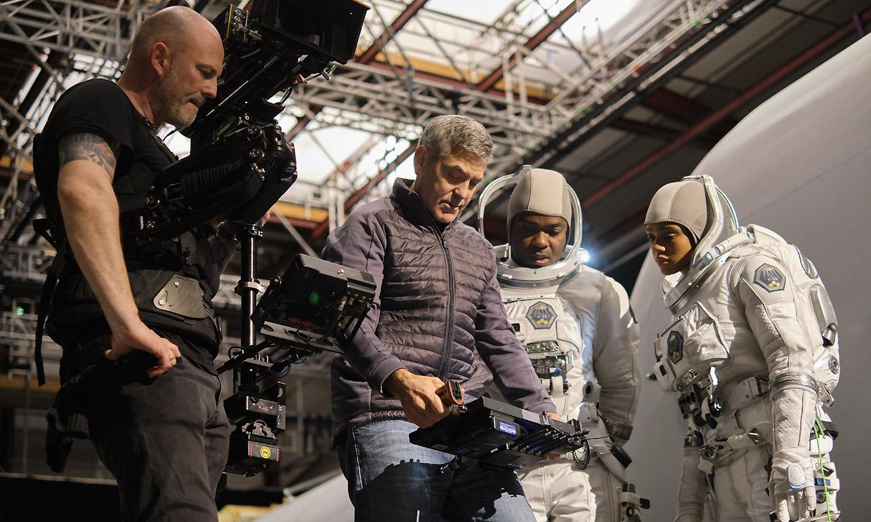 George Clooney, irreconocible en la película que rodó en Canarias a principios de año