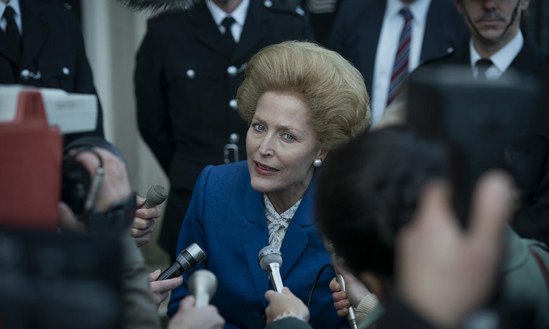 ¡Ahora sí! No te pierdas a Gillian Anderson como Margaret Thatcher en el último tráiler de 'The Crown'