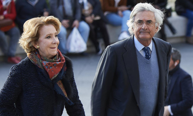 La rapidez de Esperanza Aguirre al notar los síntomas de su marido