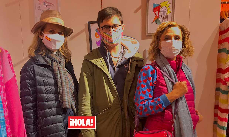 PRIMICIA: La infanta Elena visita la primera exposición de Duarte Falcó