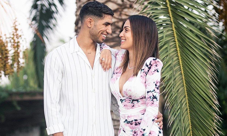 'Feliz cumpleaños Mami', Achraf Hakimi saca su lado más sentimental con Hiba Abouk