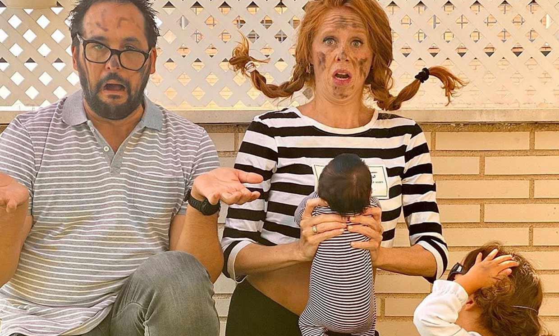 '1+1 son cuatro', María Castro celebra el primer cumplemés de su hija Olivia