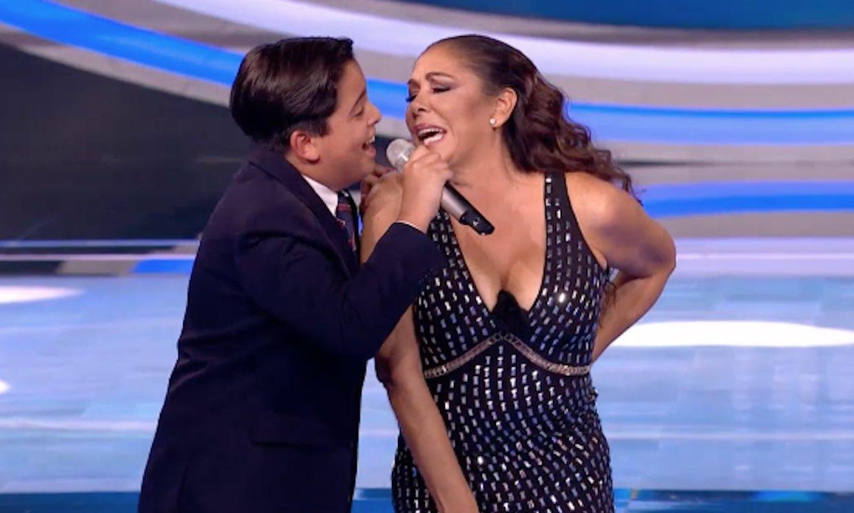 Noche de ránkings en 'Idol Kids': Isabel Pantoja emocionada y rendida ante el Raphael más joven