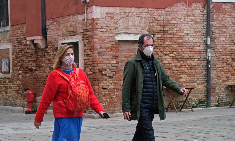 Ágatha Ruiz de la Prada y Luis Gasset pasean su amor por Venecia