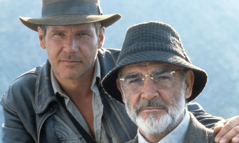 Harrison Ford rinde homenaje a Sean Connery, su padre en 'Indiana Jones y la última cruzada'
