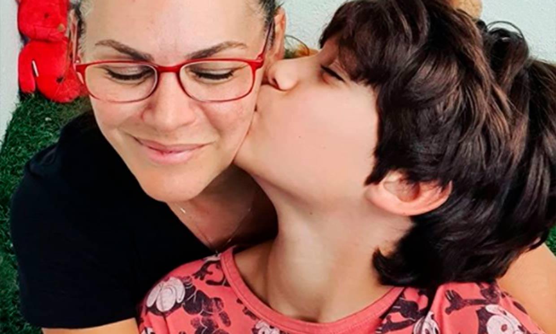 Carlos, el hijo de Bertín Osborne, convertido en el 'showman' de la familia a sus casi 12 años