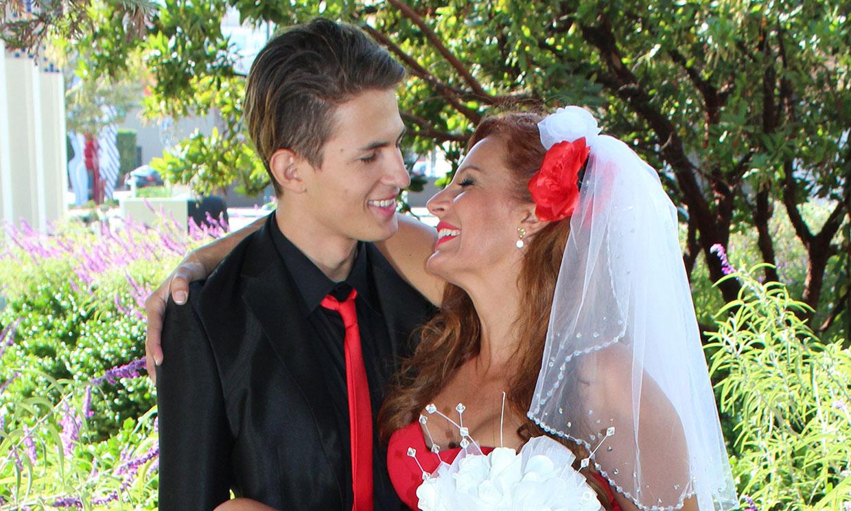 Así fue la boda de Sonia Monroy y Juan Diego López, concursantes de 'La casa fuerte'