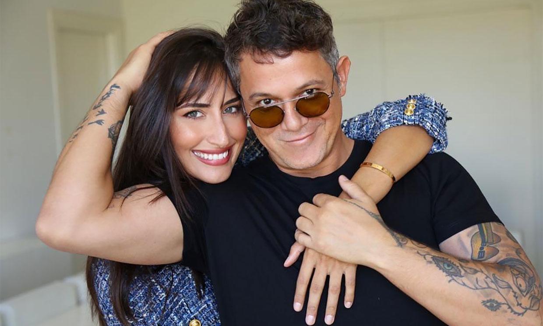 La romántica felicitación de Alejandro Sanz a su novia, Rachel Valdés