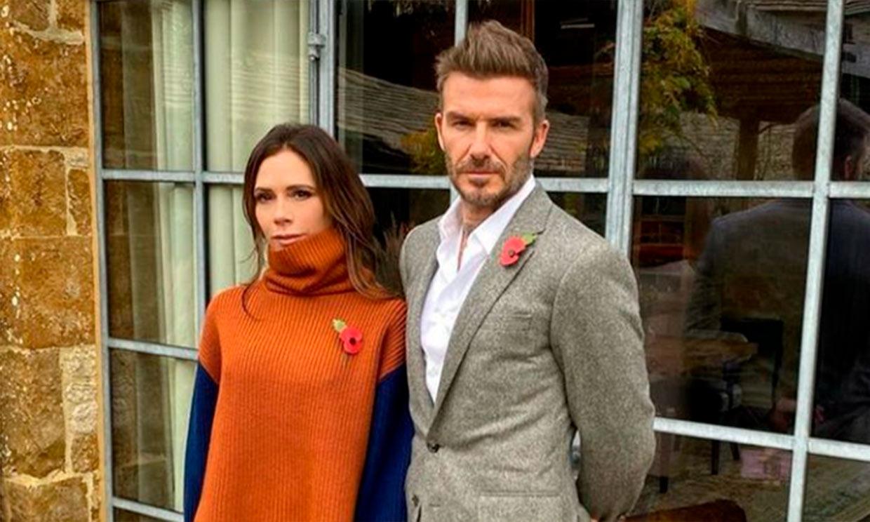 El 'look' de David Beckham que ha hecho que Victoria le compare con un villano de Disney