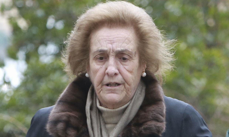 Teresa Rivero, viuda de Ruiz-Mateos, ingresada grave en el hospital