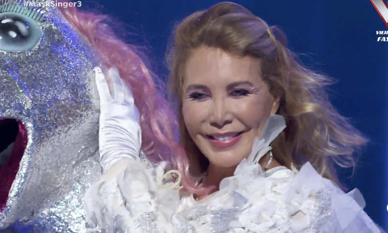 Norma Duval, tercera eliminada de 'Mask Singer'