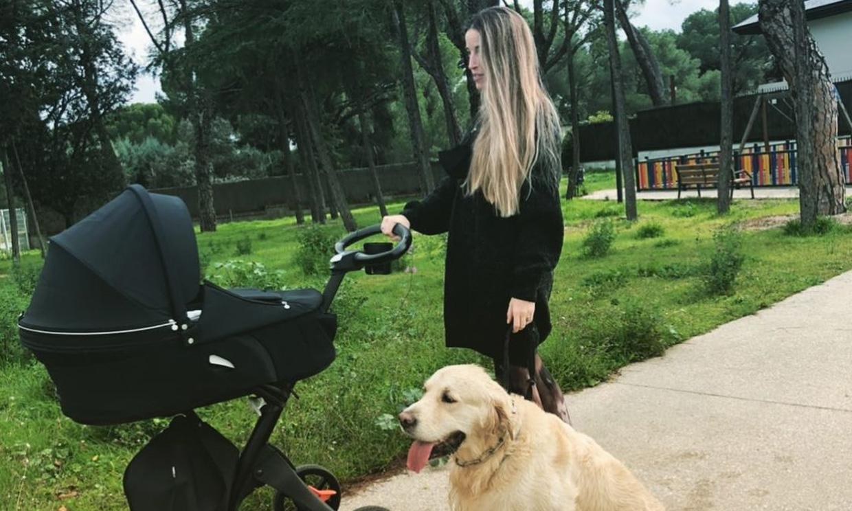 Marta Castro tiene al mejor 'vigilante' para cuidar de su hijo Hugo