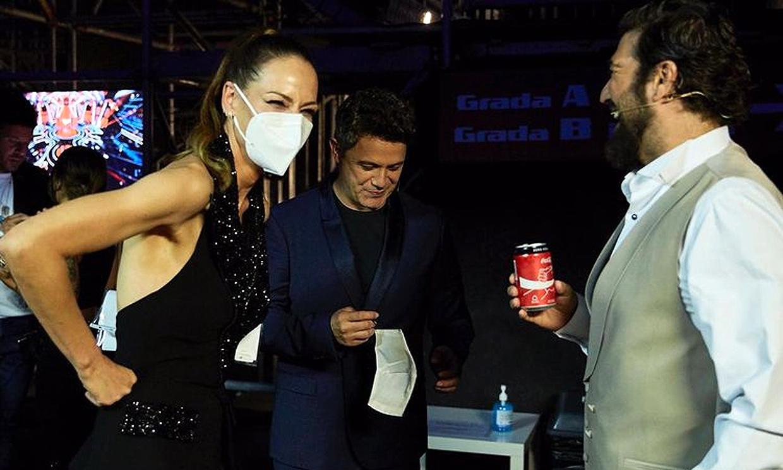 Eva González, así fue su reencuentro con Alejandro Sanz y Antonio Orozco tras el confinamiento