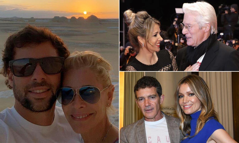 Belén Rueda, Antonio Banderas, Richard Gere y otras parejas que demuestran que la diferencia de edad no es una barrera