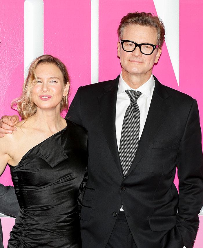 Colin Firth y Renee Zellwegger