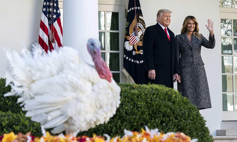 Foto a foto: La última y anecdótica celebración de los Trump por Acción de Gracias