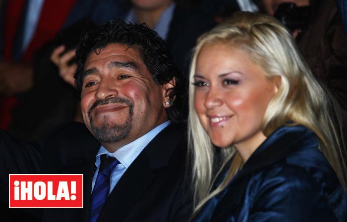 maradona2 getty z - Diego Armando Maradona, su historia familiar: cinco hijos reconocidos y varias parejas rotas