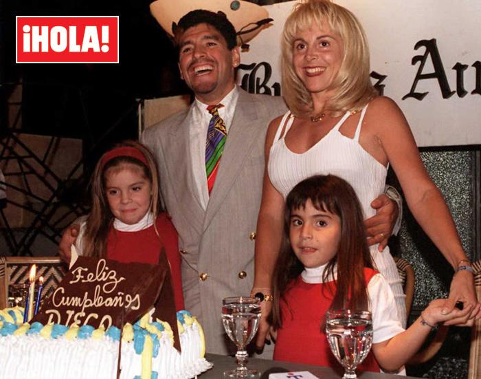 maradona5 getty z - Diego Armando Maradona, su historia familiar: cinco hijos reconocidos y varias parejas rotas