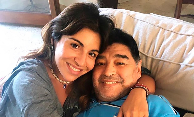 El mensaje de Gianinna, hija de Maradona, antes del fallecimiento de su padre