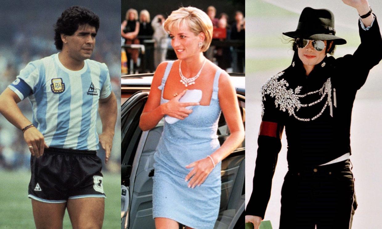 Maradona y otras muertes de ídolos que conmocionaron al mundo