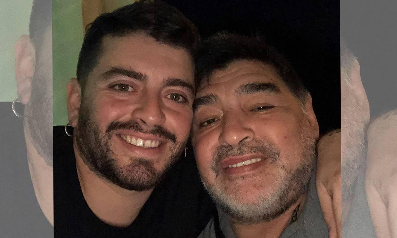 Diego Jr, el hijo al que Maradona reconoció en 2016, recuerda el abrazo de su padre con el que soñó 'tantos años'