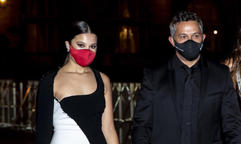 Alejandro Sanz, muy emocionado con la sorpresa de su hija Manuela