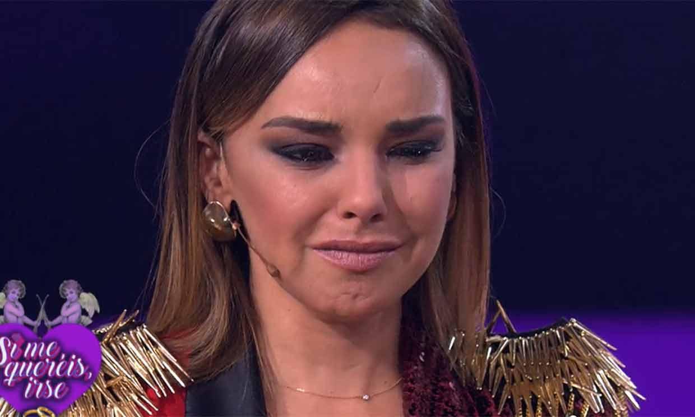 Chenoa rompe a llorar tras escuchar la emotiva carta de Ángel Llàcer por su boda