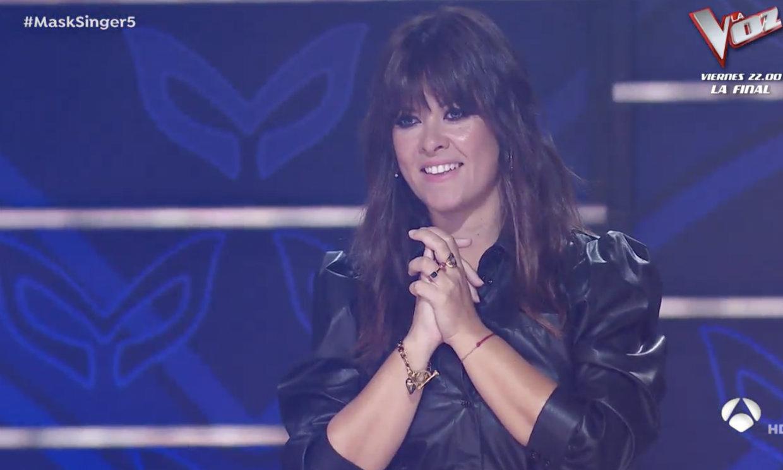 Vanesa Martín debuta como investigadora en 'Mask singer' para sustituir por un día a Malú