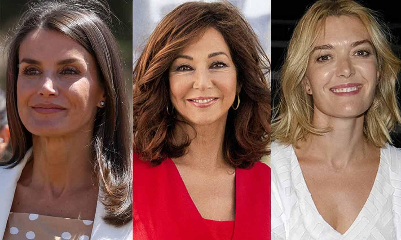 Doña Letizia, Marta Ortega y Ana Rosa Quintana, entre las 25 mujeres más influyentes de España, según Forbes