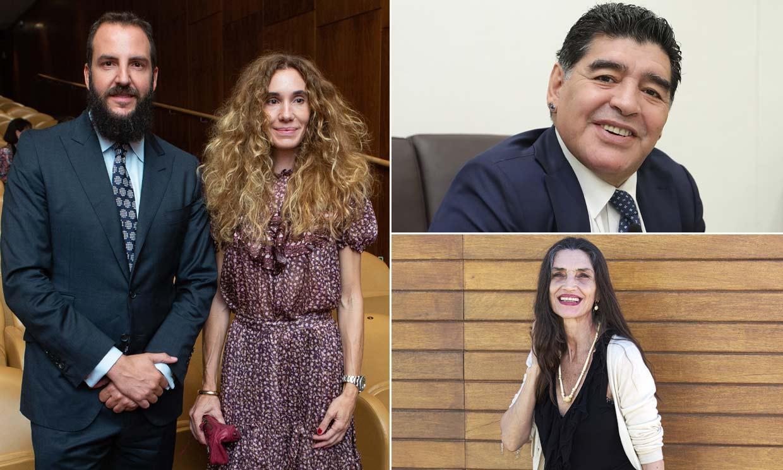 Borja Thyssen, Ángela Molina, Maradona y otras personalidades con cinco hijos