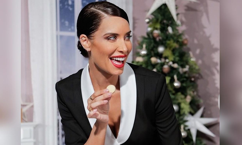 La manicura navideña de Pilar Rubio que te va a encantar
