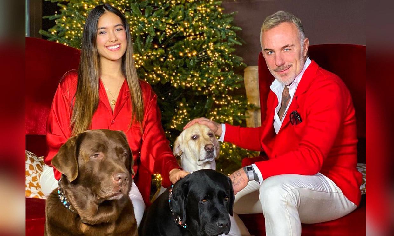 Gianluca Vacchi y Sharon Fonseca inauguran la Navidad con un superbaile