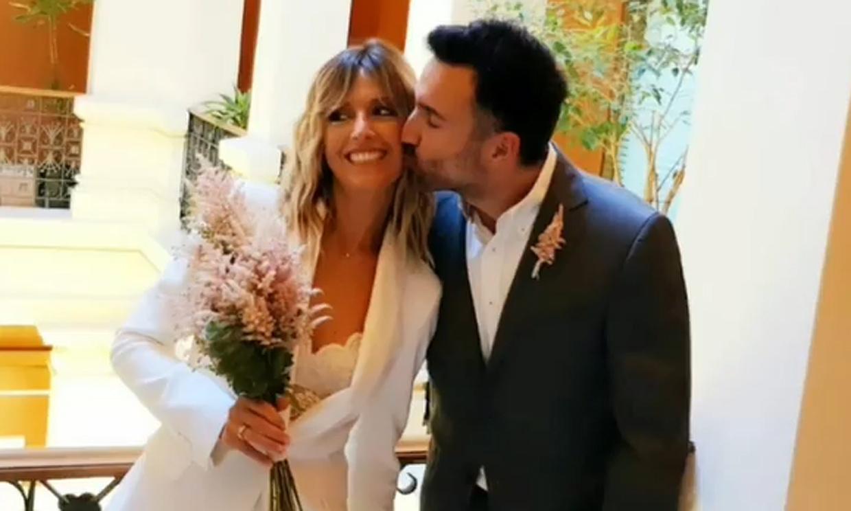 Del plató al altar: la boda sorpresa de María Moya, colaboradora de 'Aruseros'