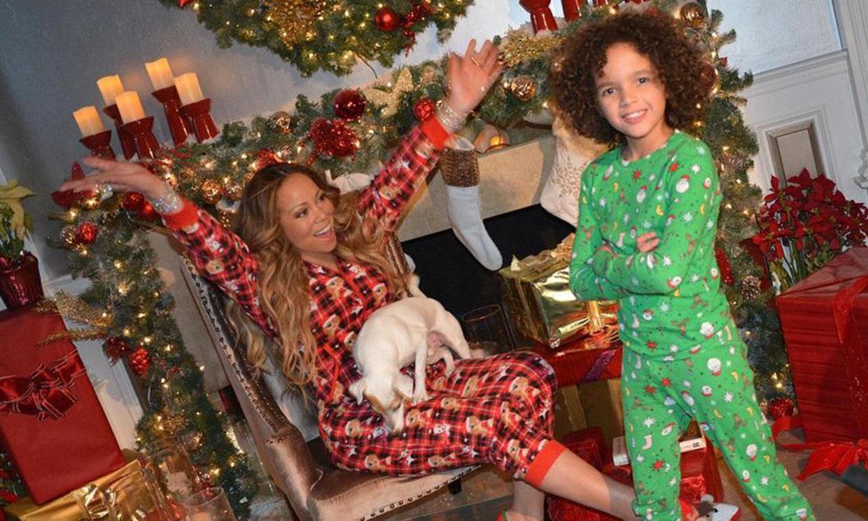 ¡Monta la Navidad con sus hijos en una caravana de lujo! Lo último de Mariah Carey