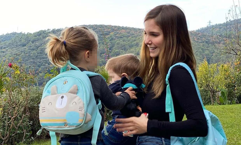 Natalia Sánchez inaugura las vacaciones de invierno de sus hijos: así será su Navidad