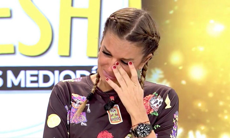 Marta López, incapaz de contener las lágrimas ante las mentiras de su ex, Efrén