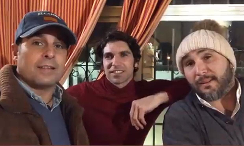 Francisco, Cayetano y Kiko Rivera no faltan a una de sus tradiciones en Navidad