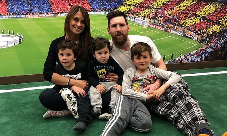 Messi se sincera, como nunca antes, sobre su vida familiar