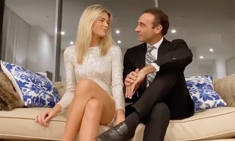 Enrique Ponce y Ana Soria reciben el 2021 en un destino invernal