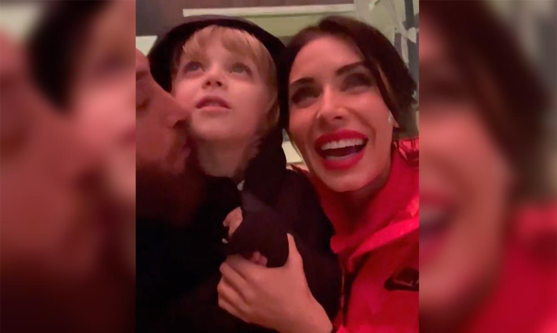 Los deseos de Pilar Rubio para este 2021, entre fuegos artificiales y besos en familia