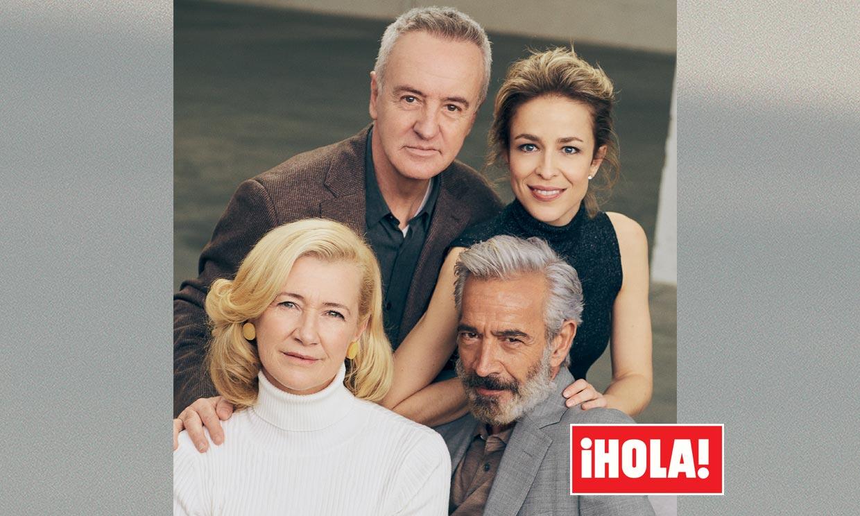 En ¡HOLA!: Los Alcántara, excepcional reportaje con la familia más famosa de la tele