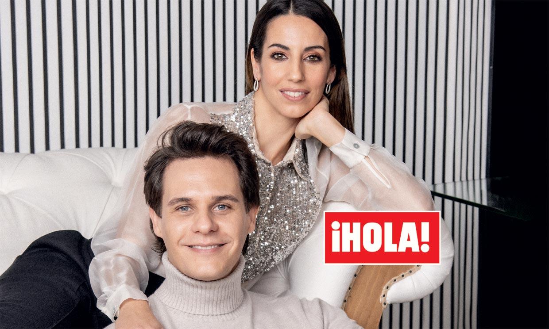 En ¡HOLA!: Christian Gálvez y Almudena Cid, confesiones al despedir el año