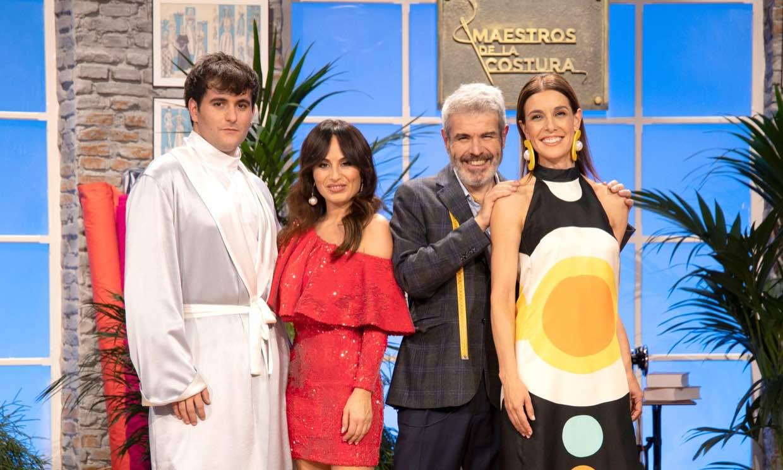 'Maestros de la costura' presenta su cuarta temporada con Raquel Sánchez Silva a los mandos
