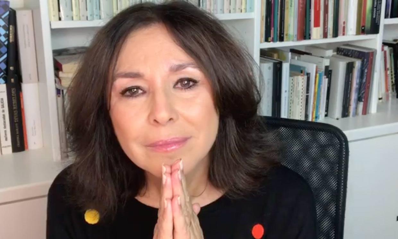 Isabel Gemio responde al borde de las lágrimas a la polémica con María Teresa Campos
