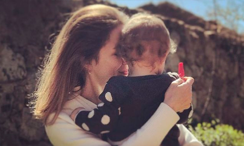 La original imagen con la que Silvia Abascal ha felicitado a su hija Leona por su cumpleaños